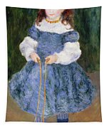 Girl With Jumping Rope, 1876 Tapestry
