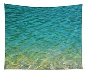 Glacial Depths Tapestry