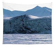 Glacier Cracked Under Pressure Tapestry