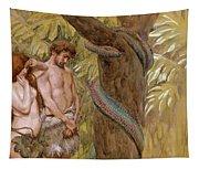 Gods Curse, Adam And Eve Tapestry