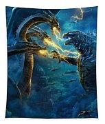Godzilla II Rei Dos Monstros Tapestry