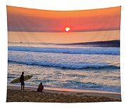 Gold Cup Sunset Tapestry