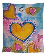 Golden Heart Tapestry