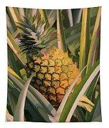 Golden Pineapple Tapestry