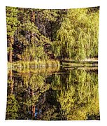 Golden Shevlin Park Tapestry