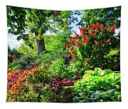 Gorgeous Gardens At Cornell University - Ithaca, New York Tapestry