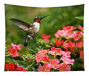 Graceful Garden Jewel Tapestry