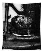 Graphic Ww1 German Helmet Tapestry