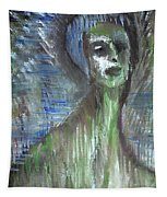 Green Bather Tapestry