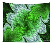 Green Frosty Canyon Tapestry