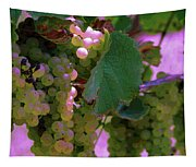 Green Grapes On The Vine 12 Tapestry