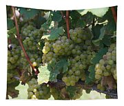 Green Grapes On The Vine 18 Tapestry