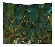 Green Grapes On The Vine 4 Tapestry