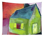 Green House- Art By Linda Woods Tapestry