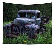 Green Mattress Tapestry