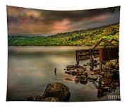 Gwynant Lake Old Boat House Tapestry