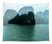 Halong Bay Mountains, Vietnam Tapestry