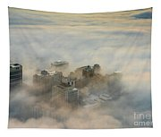 Harborview In The Clouds Tapestry