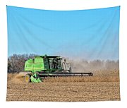 Harvesting Soybeans Tapestry