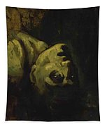 Head Of A Drowned Man Tapestry