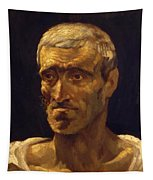 Head Of A Shipwrecked Man Study For The Raft Of Medusa 1819 Tapestry