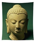 Head Of The Buddha, Sarnath Tapestry