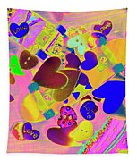 Heart Stack - Fallen For Sk8 Tapestry