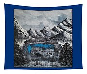 Heaven On Earth Number Four Tapestry