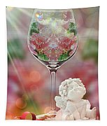 Heavenly Valentine Tapestry