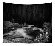 Hepokongas Waterfall Bw Tapestry