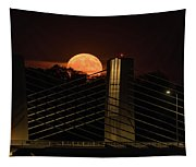 Here Comes Mister Moon 3 Tapestry