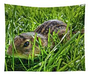 Hiding In The Grass Tapestry