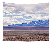 High Plains And Majestic Mountains Tapestry