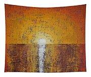 Hilton Head Sunrise Original Painting Tapestry