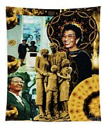 Historic Triumph Of Dr. Abigail Jordan Tapestry