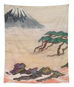 Hoitsu Through The Eyes Of Modernity Turned Backward Tapestry