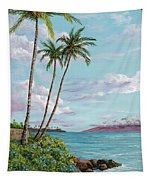 Honokeana Point Tapestry by Darice Machel McGuire