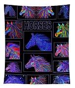 Horses Poster Tapestry