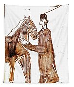 How The Camel Got His Hump Digital And Drawings D4-1 Tapestry