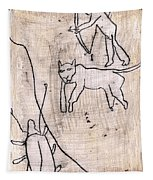 How The Leopard Got His Spots Dr23ed2 Tapestry