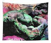 Hulk Thinker Tapestry