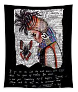 I Am A Woman Tapestry