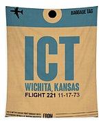 Ict Wichita Luggage Tag I Tapestry