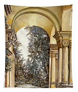 Il Bosco Dopo Le Arcate Tapestry