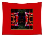 imagery in healing in a Buddhism way Tapestry