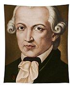 Immanuel Kant, Philosopher, Born In Konigsberg, Germany Tapestry
