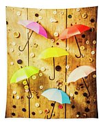 In Rainy Fashion Tapestry