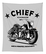 Indian Chief Roadmaster 1953 Tapestry by Mark Rogan