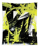 Industrial Abstract Painting II Tapestry