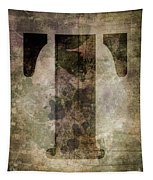 Industrial Letter T Tapestry